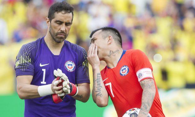 """""""Históricos"""" Claudio Bravo y Gary Medel lideran nómina de Chile para amistoso con Bolivia"""
