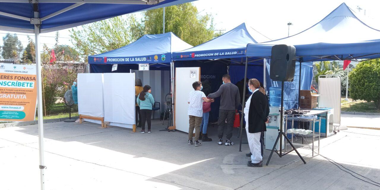 Santa Cruz: La comunidad se muestra dispuesta ha vacunar a sus niños contra el COVID 19