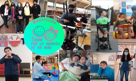 Agrupación todos por la sonrisa de un niño, visibilizando la discapacidad en Santa Cruz.